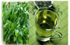 The parsley tea is used to control the menstrual cycle and it helps normalize…