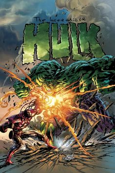 Hulk vs Iron by Mike Deodato Jr.