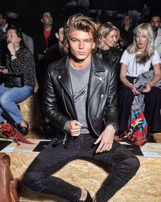 "trends4men: ""Friday looks! (Jordan Barrett) """