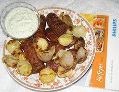W Mojej Kuchni Lubię.. : pyszne kiełbaski chrupiące z cebulką:testowanie Ai...