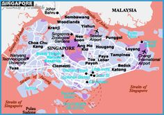 singapore map tourist attractions httptravelsfinderscomsingapore map tourist attractionshtml travels finders pinterest singapore map