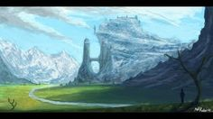 Fantasy Landscape by Will Roberts