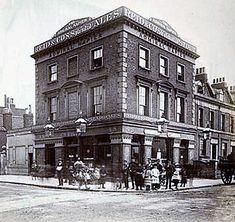 Admiral Napier, corner of Amersham Vale and Douglas Street, Deptford London Pubs, London Street, Vintage London, Old London, Old Pub, London Photography, Vintage Photography, London History, London Pictures