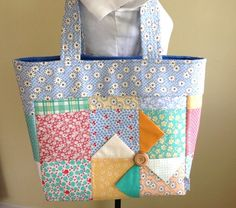 Hey, I found this really awesome Etsy listing at https://www.etsy.com/listing/152671802/quilted-bag-tote-patchwork-purse-ready