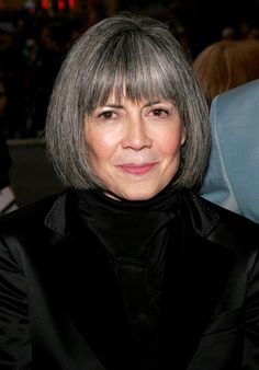 rice- Anne Rice Defends Authors from Online Bullying Anne Rice, Gray Hair Growing Out, Interview With The Vampire, Silver Grey Hair, Silver Age, Natural Highlights, Going Gray, Grow Out, Aging Gracefully