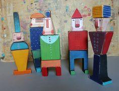 wooden toys by Jou Jou / czech artist Jana Nachlingerová