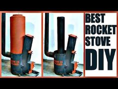 Best ROCKET STOVE DIY — by 'Made in Poland'. You can see how the rocket stove burns wood effectively. Rocket Stove Water Heater, Diy Rocket Stove, Wood Stove Heater, Rocket Stoves, Shop Heater, Diy Heater, Rocket Stove Design, Stove Parts, Garage Lighting