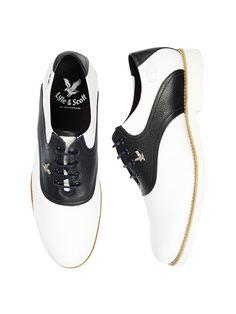Lyle & Scott Skaven Saddle Shoes
