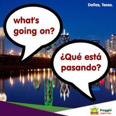 Frases comunes en una conversación en inglés. Ejemplo: I prefer not knowing what's going on. (Prefiero no saber qué está pasando).  www.froggin.com.mx