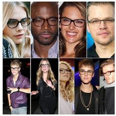 #Glasses have become a popular trend, and more and more #celebrities are wearing them instead of reaching for contacts. These hot famous celebrities all wear glasses and look great doing so. Whether necessary for vision, or just as a fun #accessory, these gorgeous celebrities are making glasses look hot.