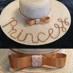 2378218666ef8 Wedding and the races hat inspiration Princess Hat  The Personalised Hat    Bag Company .. see Facebook   Instagram. Monica Souza · chapéu de praia