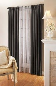 How To Hang Double Curtain Rods Home Curtains Bedroom Styles