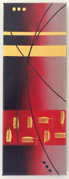 Tableau de style abstrait par l'Atelier de Corinne : Décorations murales par atelier-de-corinne