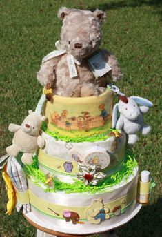 Classic Pooh Winnie the Pooh Diaper Cake
