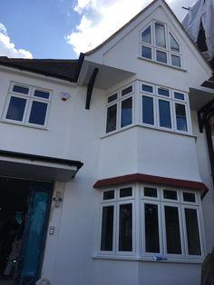 Casement Windows, Garage Doors, Mansions, House Styles, Outdoor Decor, Home Decor, Decoration Home, Manor Houses, Room Decor