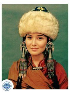 A Kyrgyz girl
