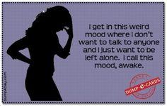 Dump A Day Awake mood Dump E-card - Dump A Day