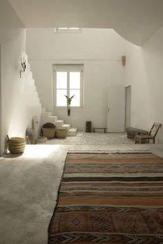 Méchant Studio Blog: natural mood (*at home gym, goes up to family room*)
