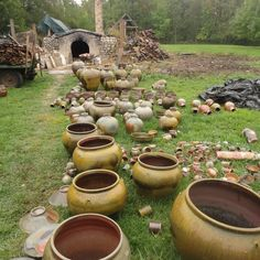 Unzicker Brothers Pottery (Tom and Jeff) wood-fired kiln located in Kansas or Indiana.