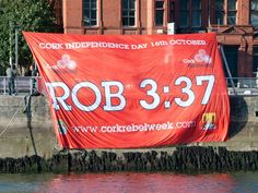 The fabulous ROB 3:37 flag produced in recognition of #Cork man Rob Heffernan's winning time at the recent World Championships in Moscow will be on show in Croke Park during the All-Ireland Hurling Final as a source of inspiration to the Cork hurlers. #RebelsAbu