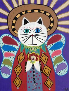 Check out this item in my Etsy shop https://www.etsy.com/listing/157169272/kerri-ambrosino-mexican-folk-art-print