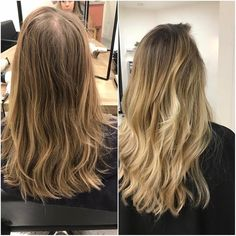 | Nouvelle réalisation | Ombre hair #nosrealisations #nofilter #latelieraix #coiffure #coloration #tieanddye #balayage #blondehair #atelieraix #aixmaville #ombrehair #technicalcolor #visityouratelier #tigereyehair #aixenprovence