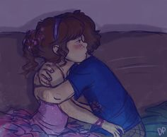 Dipper and Mabel are sweet