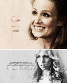 Mary Winchester nee Campbell: You know the worst thing I can think of, the very worst thing is for my children to be raised into this like I was. #spn