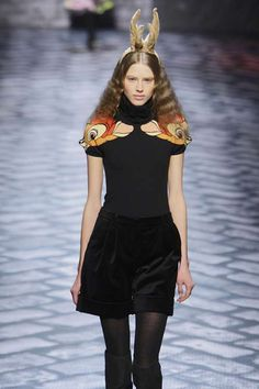 'Bambi' Print Couture - The Jean Charles de Castelbajac Fall/Winter 2010-11 Line Channels Disney (GALLERY)