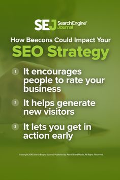 Pretty soon a new technically known as beacons will be bringing advertising to a whole new level. So what does this mean for SEO? Learn more here. https://www.searchenginejournal.com/beacons-coming-fit-seo-strategy/166740/