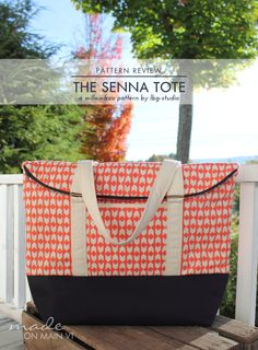 Sewing Pattern Review: The Senna Tote Bag