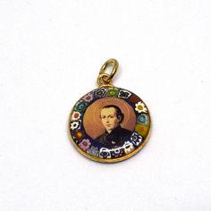 St Gaspar del Bufalo / San Gaspare medal - Precious blood - Religious medals, Saint medal, Catholic jewelry, Catholic gifts, Saint necklaces