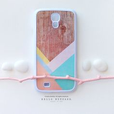 SAMSUNG Galaxy S4 Case Wood Print Galaxy S3 Case by HelloNutcase, $19.00