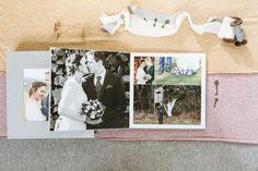 Hochzeitsalbum mit Acryl-Bildfenster - Erinnerungen fürs Herz Digital Foto, Album Cover, Polaroid Film, Box, Pictures, Photo Books, Memories, Windows, Heart
