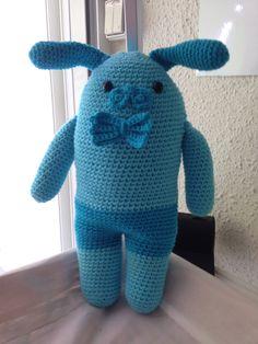 Conejo pepón azul