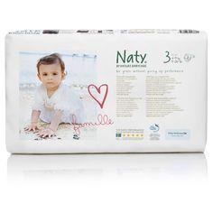 Naty Eco bleer - str 3 - 4-9 kg - økonomipakke