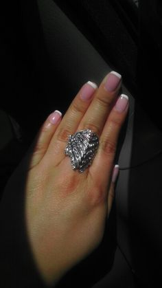 Nails done;ring