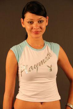 T-Shirt Donna Play Boy (PB013A BIANCO)
