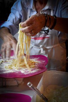 Simply Food, Simply Recipes, Anna, Ethnic Recipes, Honey, Italia, Fresh Pasta, Tagliatelle, Vegetarian Cooking