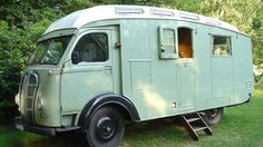 UK van-smiths, Austin, are responsible for some of the grooviest camp machines of the mid 20th century, but this 1948 adaptation of their K8 workhorse—built for two Scottish women who planned to travel the world but didn't make it beyond London—is perhaps their coolest and classiest ever.