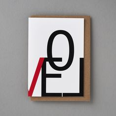 Big LOVE - A greeting card range for lovers of simple typography inspired design, check out the entire range at www.floppytoast.com