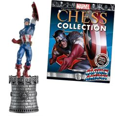 Captain America King chess piece
