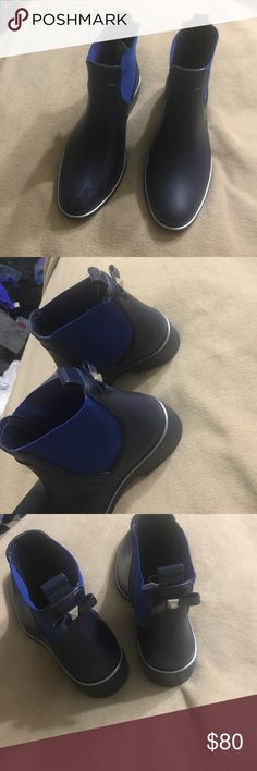 Kate Spade new Rain Boots Size 9 two blues color kate spade Shoes Winter & Rain Boots
