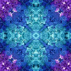 Unlock the Riddle - Psychedelic Art Print - Visionary Art - Digital Tie Dye - Mandala - Abstract wall art - Art Print - Mystical Art Thing 1, Fractal Art, Fractals, Mythological Creatures, Visionary Art, Psychedelic Art, Riddles, Abstract Wall Art, All Print