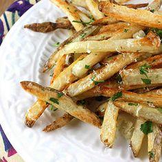 Salt and vinegar fries...  my favorite sin