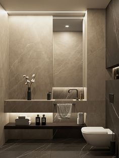"""Browse photos of Small Bathroom Tile Design. Find suggestions and inspiration for Small Bathroom Tile Design to add to your house. Washroom Design, Bathroom Design Luxury, Bathroom Layout, Modern Bathroom Design, Modern Interior Design, Modern Toilet Design, Modern Bathrooms, Bathroom Ideas, Toilet Tiles Design"