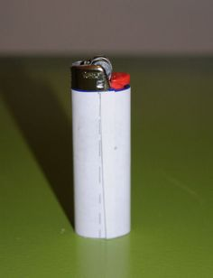 how to decoupage a bic lighter