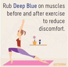 Deep Blue for your workout