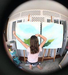 Invasión en el estudio!! Las adoro pero estoy deseando que empiecen el campamento para tener más tiempo para pintar!! . . . . #kids #niños #abstractart  #arte #arteabstracto #abstracto #abstract #art #decoracion #decor #interiorismo #deco #interiordesign #interior  #painting #commision #colorfull #cuadrosporencargo  #twitter