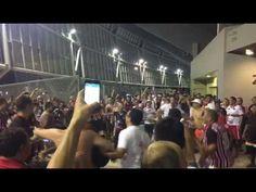 Inocente´s: Comemoração da torcida do São Paulo após vitória s...